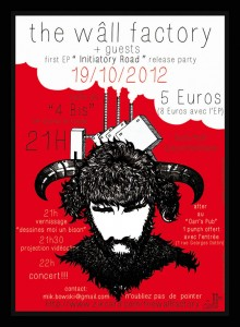 TWF - flyer - release party