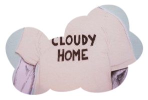 Cloudy Home – T-shirt