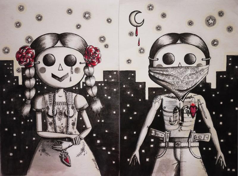 nina&nino-love gangsta bis