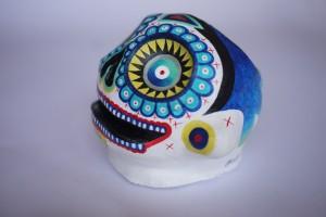 Mickael Le M-skull-profil gauche