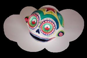 Séverine C. skull