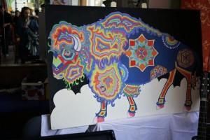 bison psyché