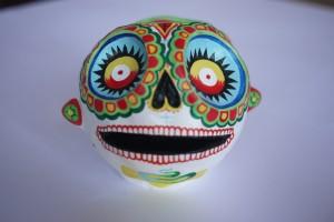 crâne 3ème oeil-de face