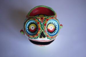 crâne 3ème oeil-dessus de face
