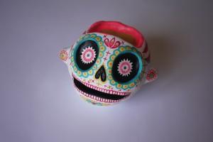 hoa skull-face-dessus