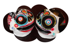 Marie J. & Olivier G. skulls