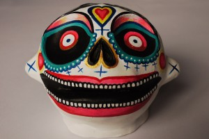 marie j. skull-face-gros plan