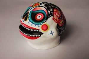 marie j. skull-profil gauche