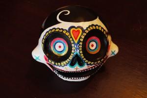 olivier g.skull-black-face-mini