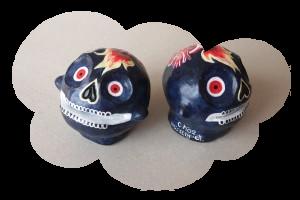 «Cerbères 01» & «Cerbères 02» skulls