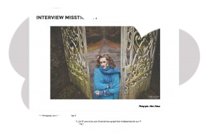 Interview par Myteeshirtletter (Déc. 2014)