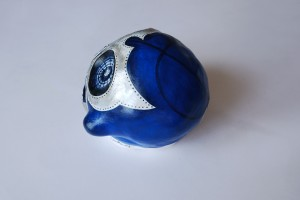blue demon lucha01 -profil dos gauche