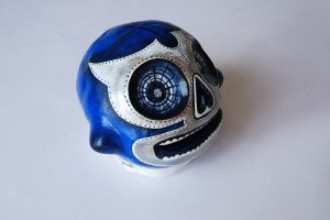 blue demon lucha01 -profil droit