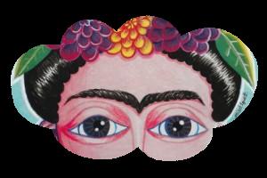 Frida aux bois et coeur sacré