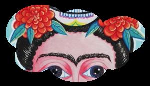 Frida aux oeillets