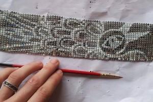 Misst1guett-test peinture blanchesur mesh métal