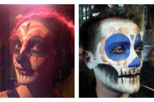 make up dia de muertos-femme et homme-oanspub-facebook