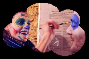 Ateliers maquillage «Dia de los Muertos 2018»