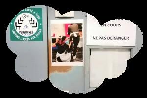 Atelier fresque participative à l'ifsi ch Guillaume Régnier – Rennes