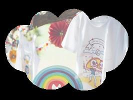 T-shirts – enfant et adulte – coton bio